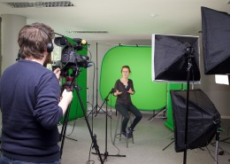Green screen photography,