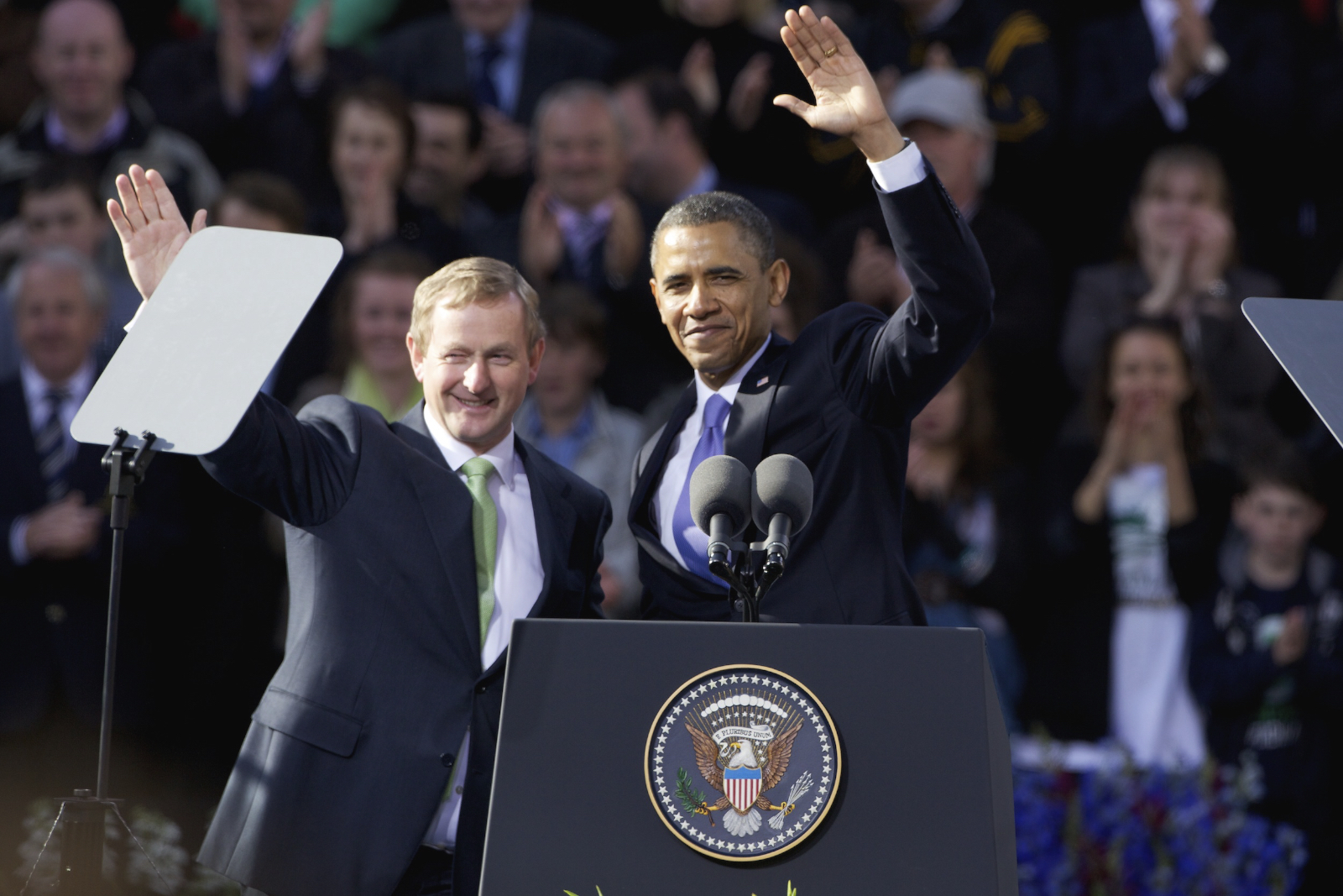 Enda Kenny & Barack Obama