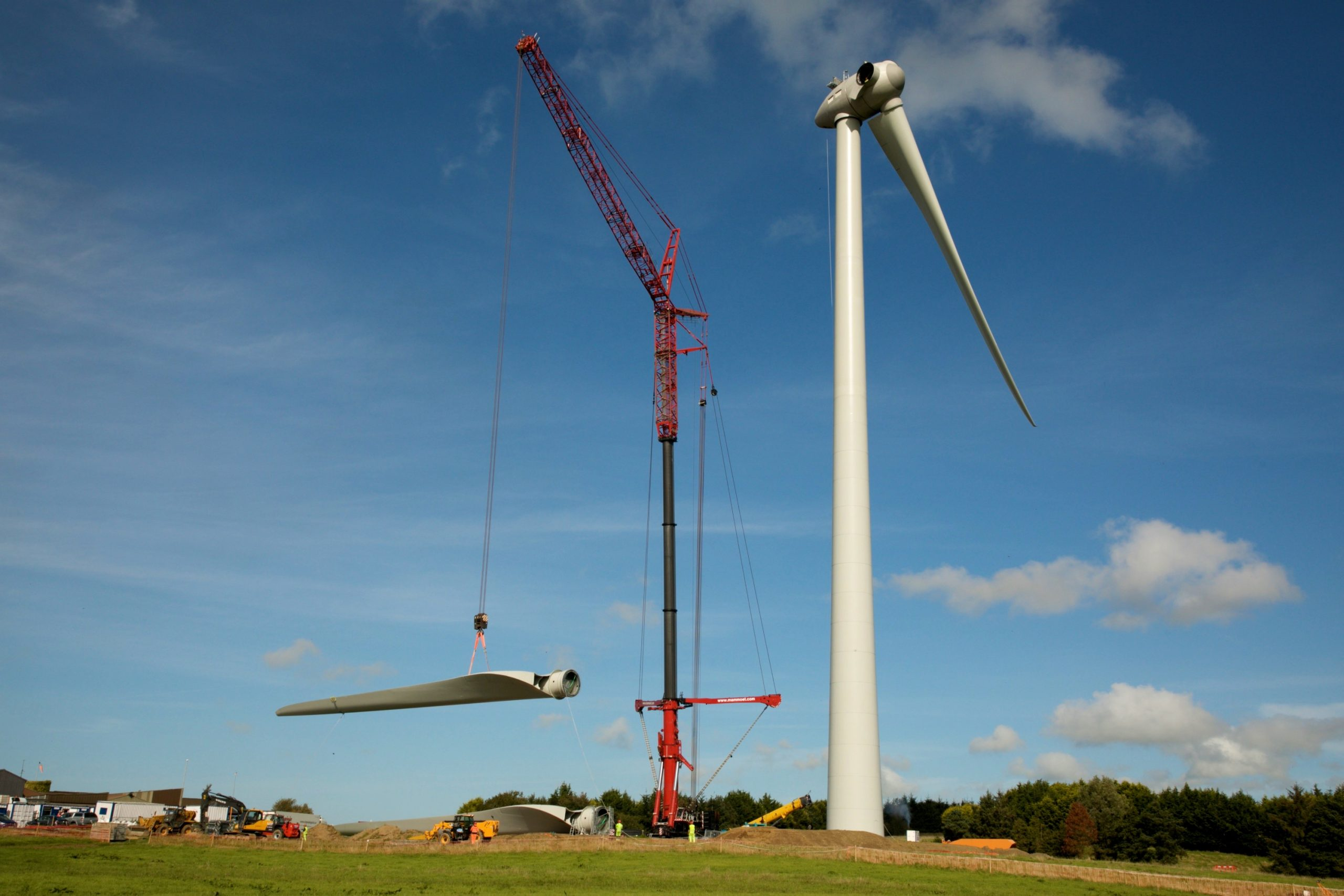 Wind Farm Construction Photographer Companies