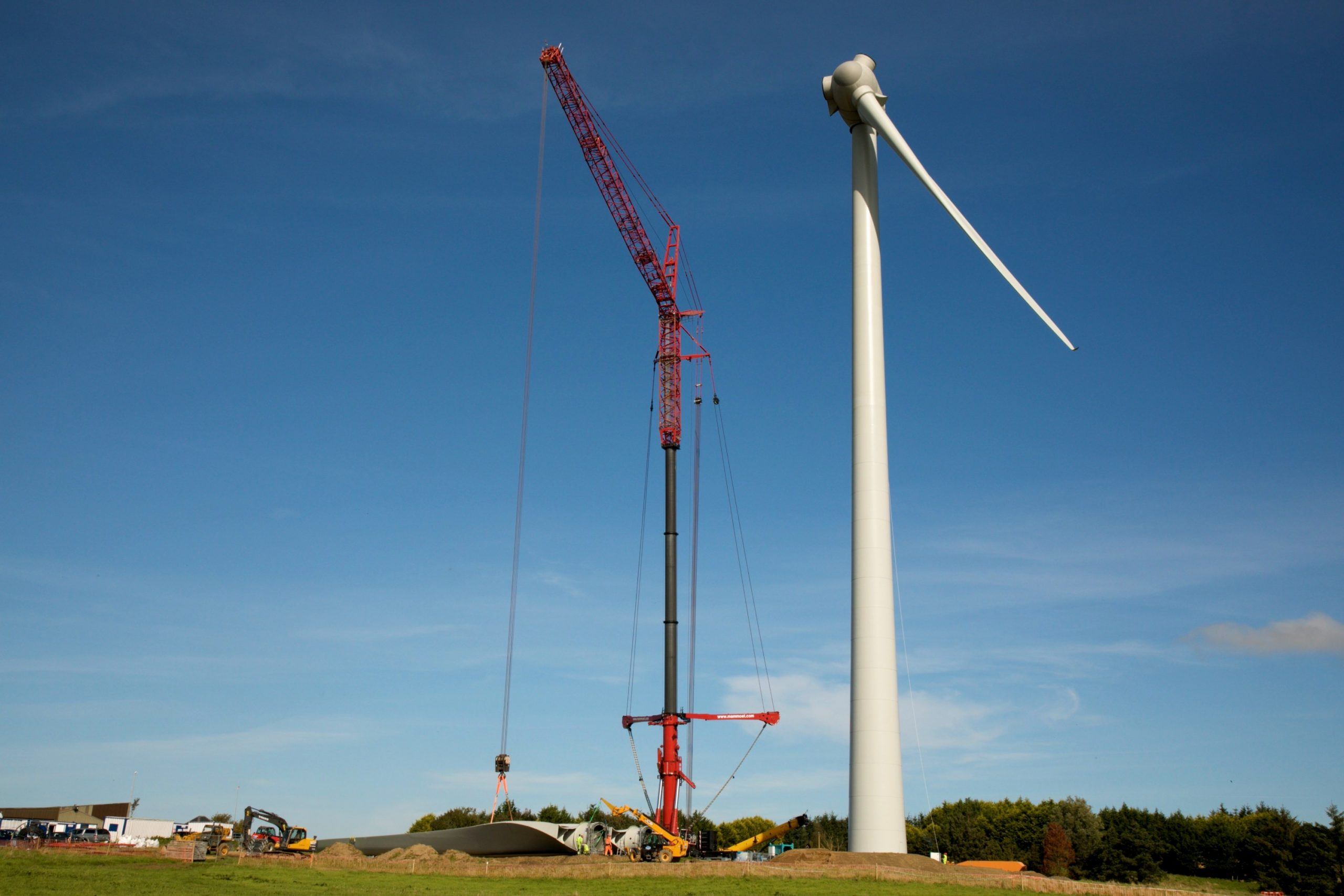 Wind Farm Construction Photographer Agencies