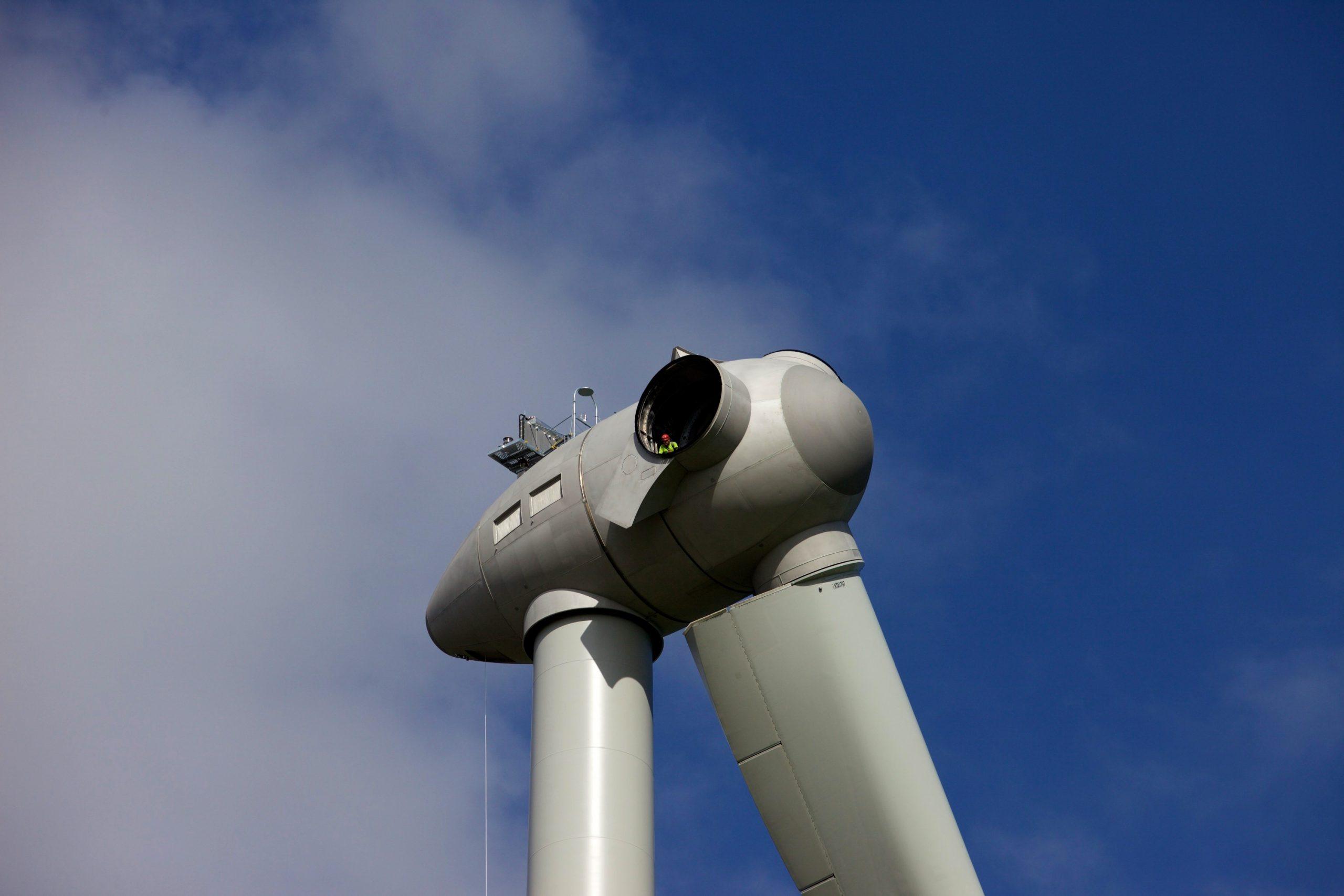 Renewable Energy Drone Video Production