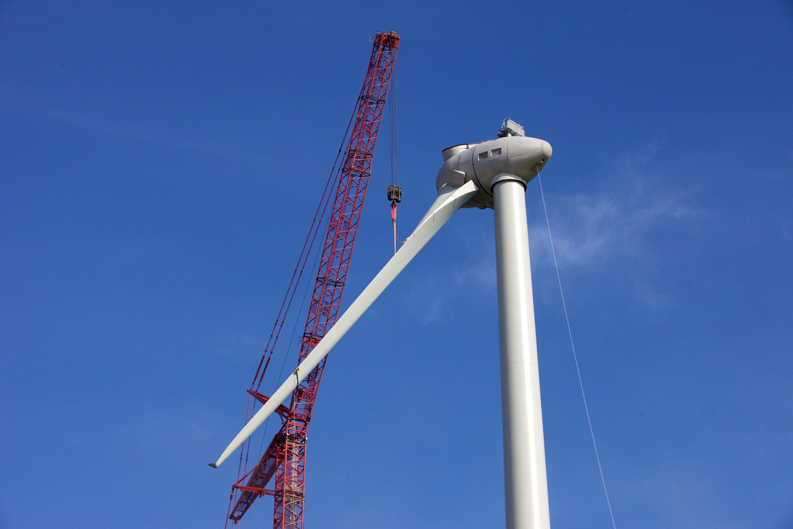Wind Turbine Construction Photo Dublin Ireland