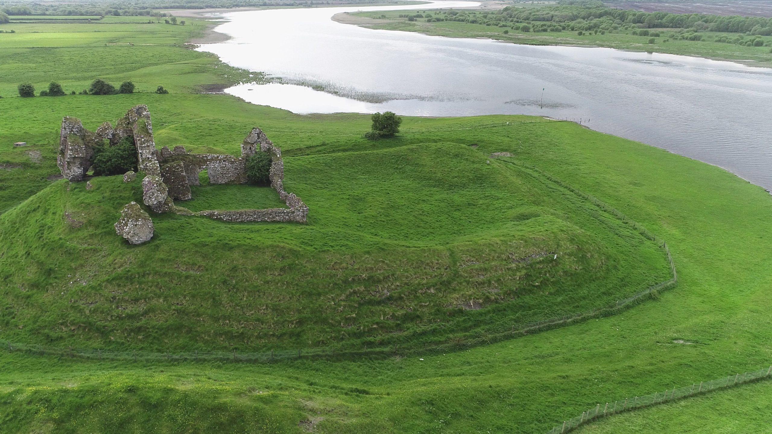 Landscape Aerial Photo Offaly, Ireland