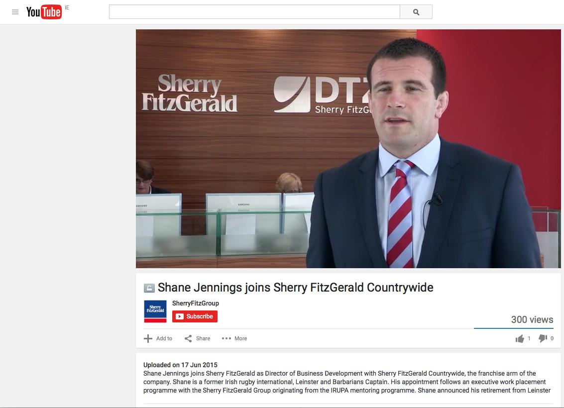 Professional Corporate Business Videographer in Dublin, Ireland.
