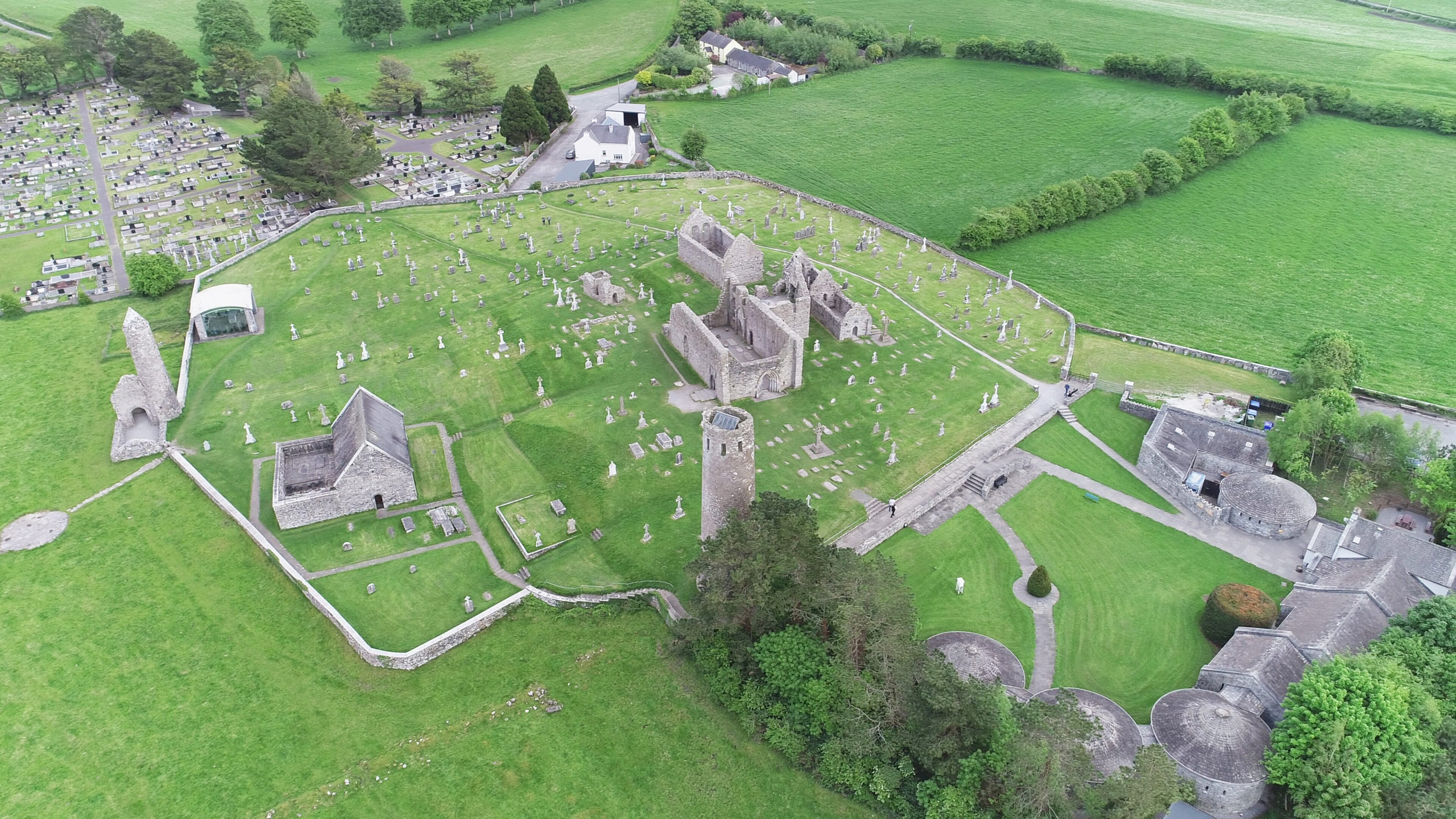 Clonmacnoise Drone Photography