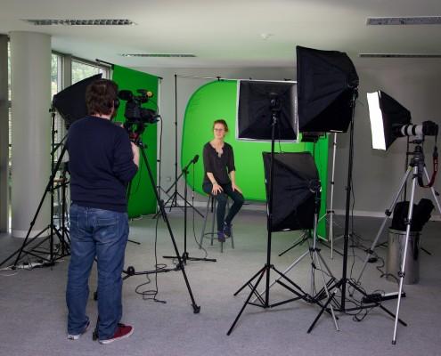 green screen, video clip, Dublin, Ireland