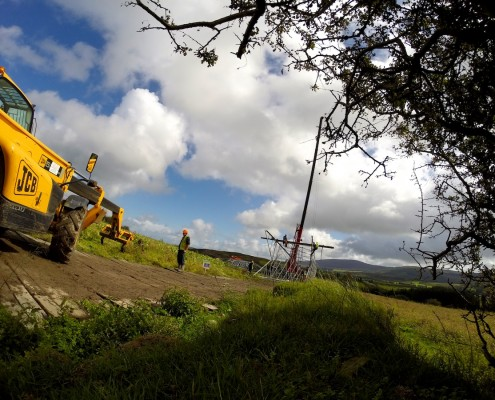 Short and long term Time-lapse of Civil Engineering Projects Photo Ireland.