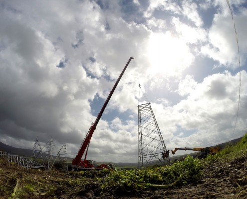 Short and long term Time-lapse of Civil Engineering Projects Pictures in Dublin, Leinster, Ireland.