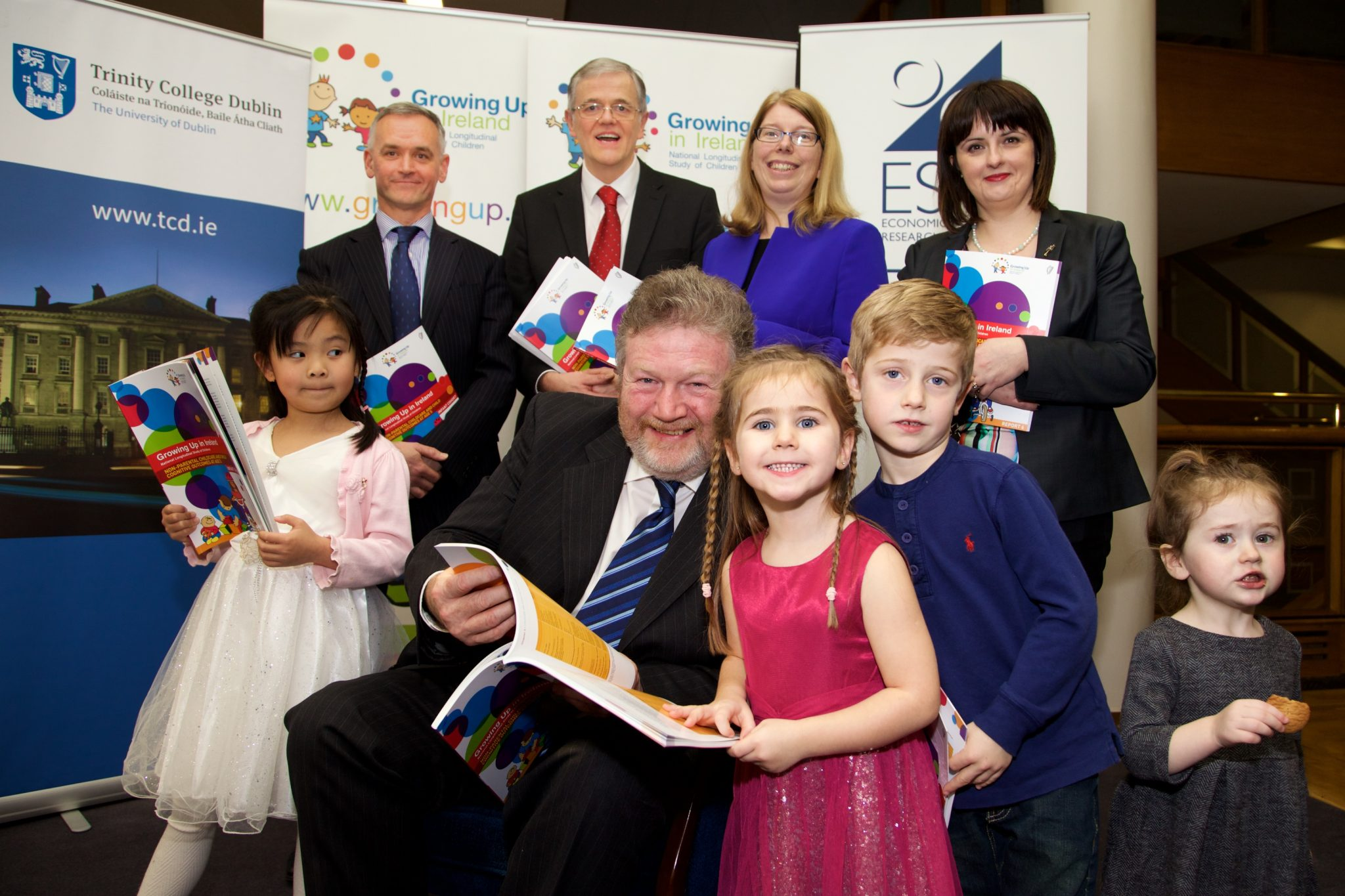 GROWING UP IN IRELAND TO PUBLISH NEW FINDINGSFROM NATIONAL STUDY OF 11,100 FIVE-YEAR-OLDS AND THEIR FAMILIES.