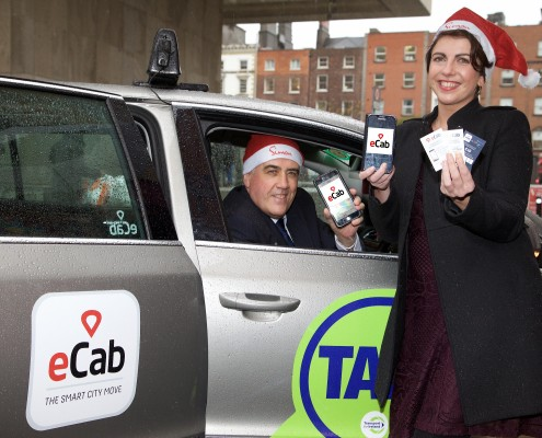 'Spare a thought' campaign which will see ecab donating €10 to Dublin Simon Community for every new download and booking of a taxi in Dublin over the month of December 2015.