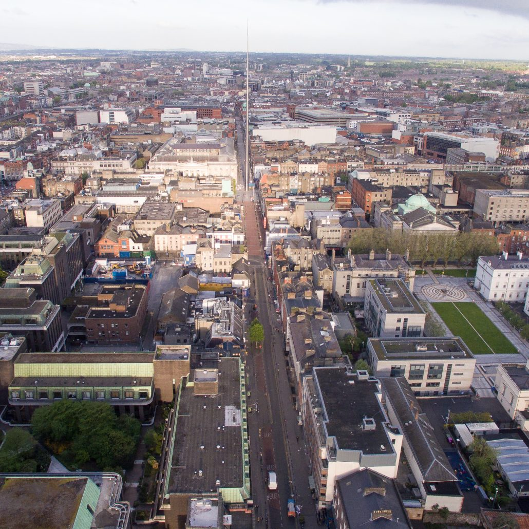 Aerial Photograph O'Connell St Square