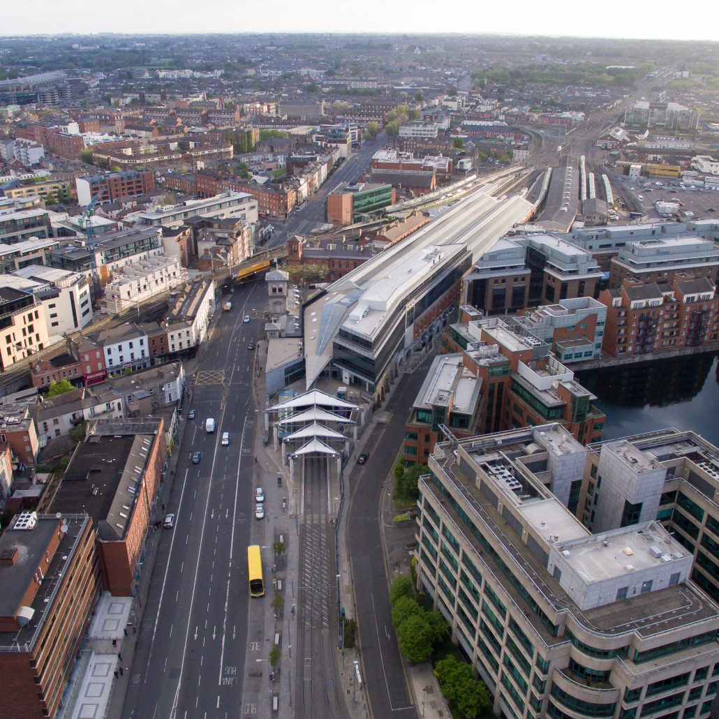 Aerial Photography/Video of Connolly Station