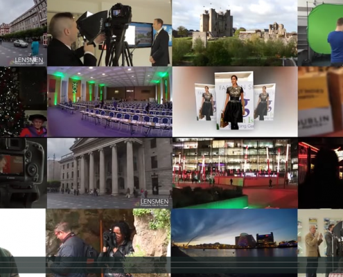 Lensmen Professional Video Training and Event production Company in Dublin, Ireland.