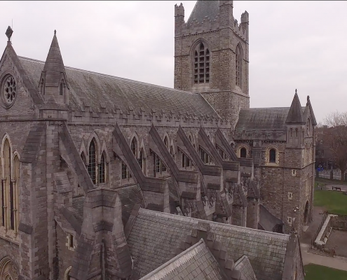 Cathedral Dublin Drone Footage