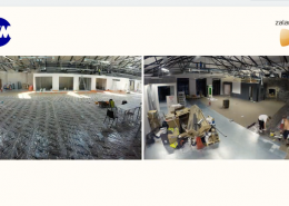 Time-Lapse for Office Refurbishment in Ireland and Time-Lapse for Office Refurbishment in Ireland.