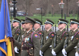 Welcome for the Croatian President in Dublin
