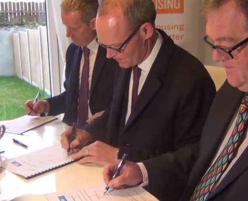 Simon Coveney launches new Social Housing Initiative