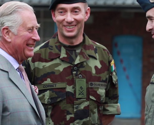 Prince Of Wales & The Duchess Of Cornwall Second Day in Ireland