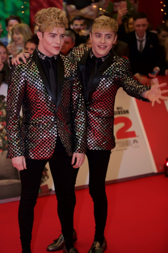 Jedward at the Red Carpet