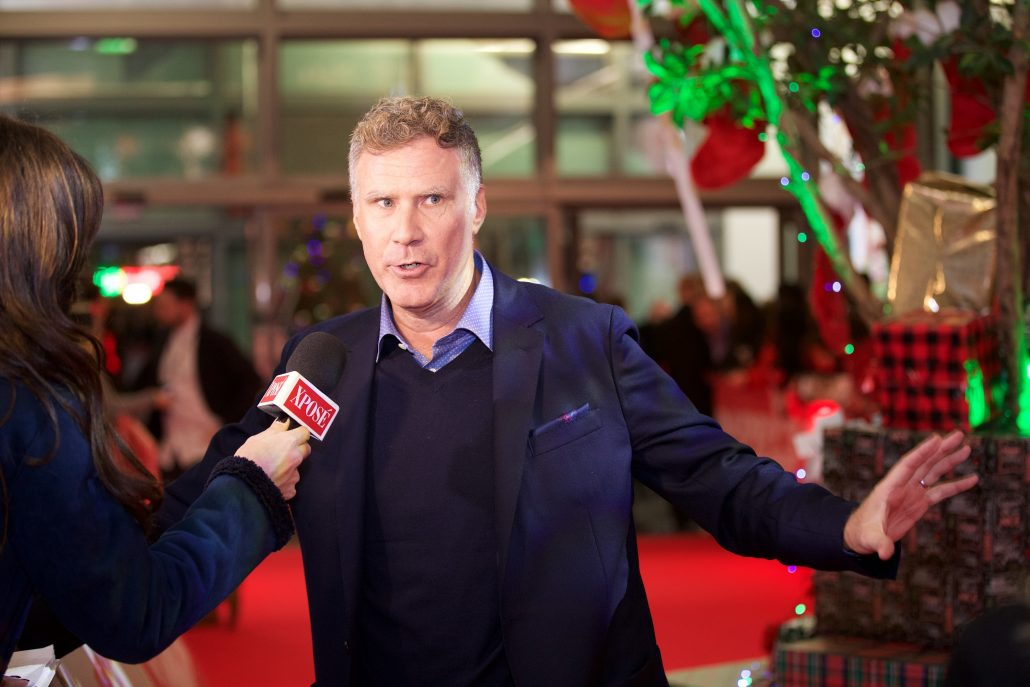 Will Ferrell on the red carpet