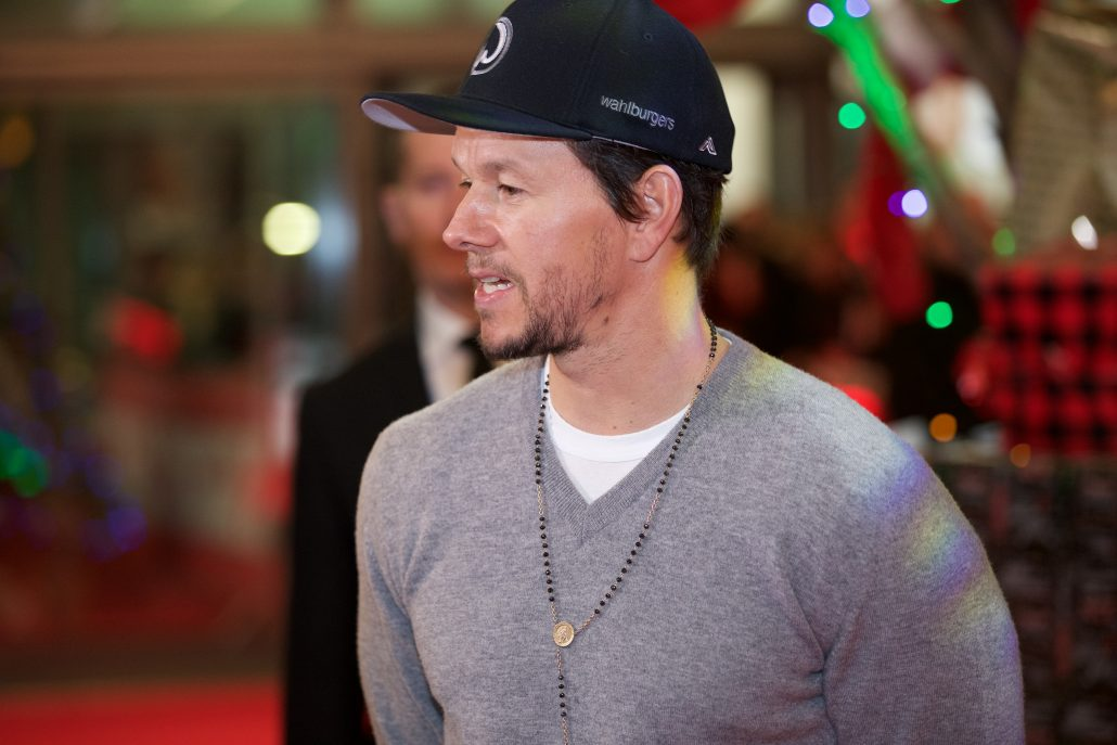 Mark Wahlberg on the Red Carpet