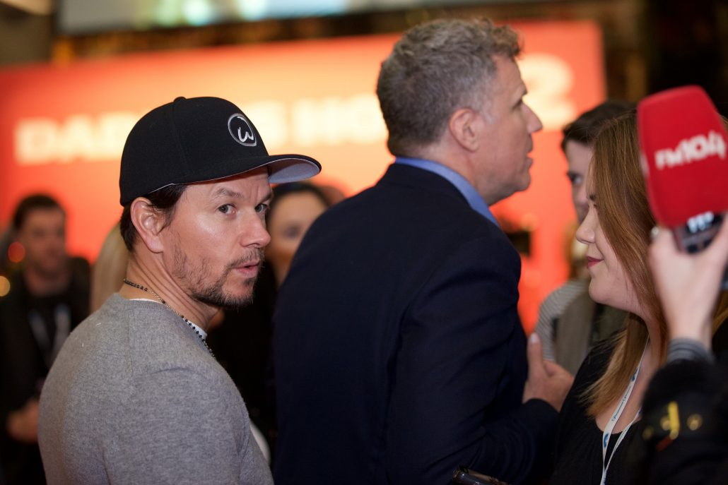 Mark Wahlberg and Will Ferrell Red Carpet Photography