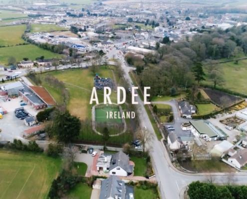 Aerial Video Ardee Town