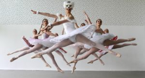 Youth Ballet Photography Group Jumping