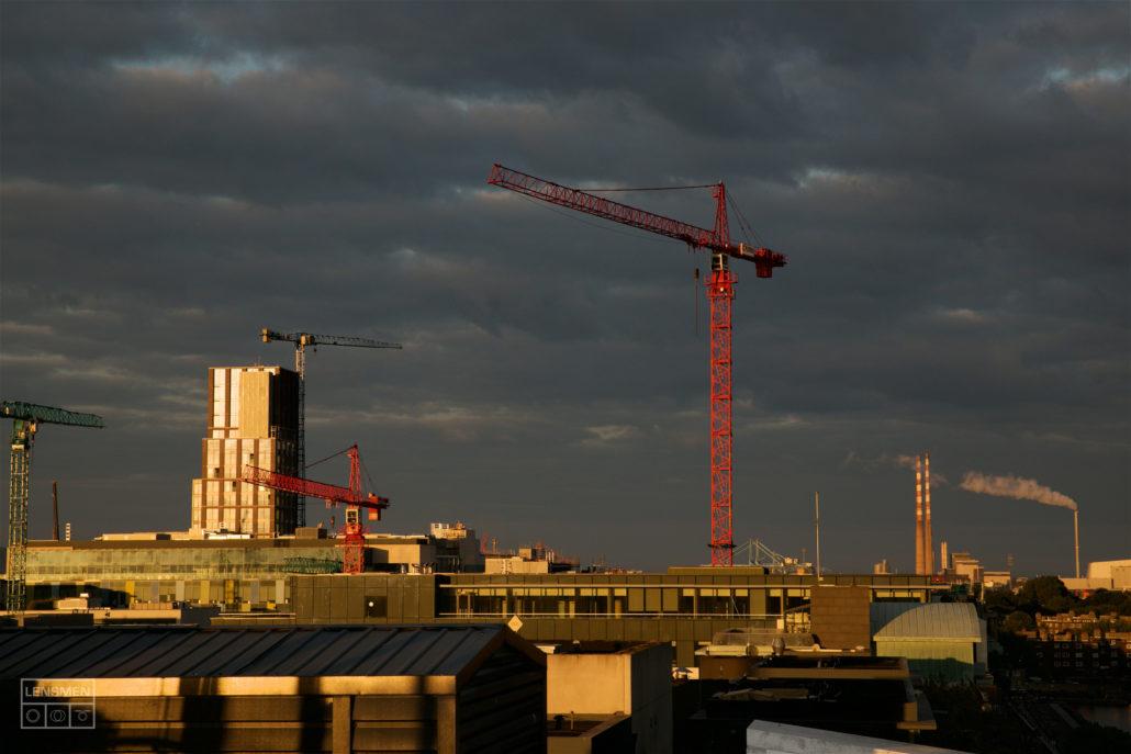Construction Photography Cranes Dublin