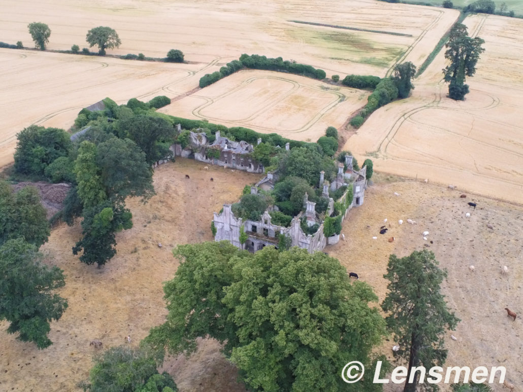 Aerial photograph Glyde Castle Co. Louth