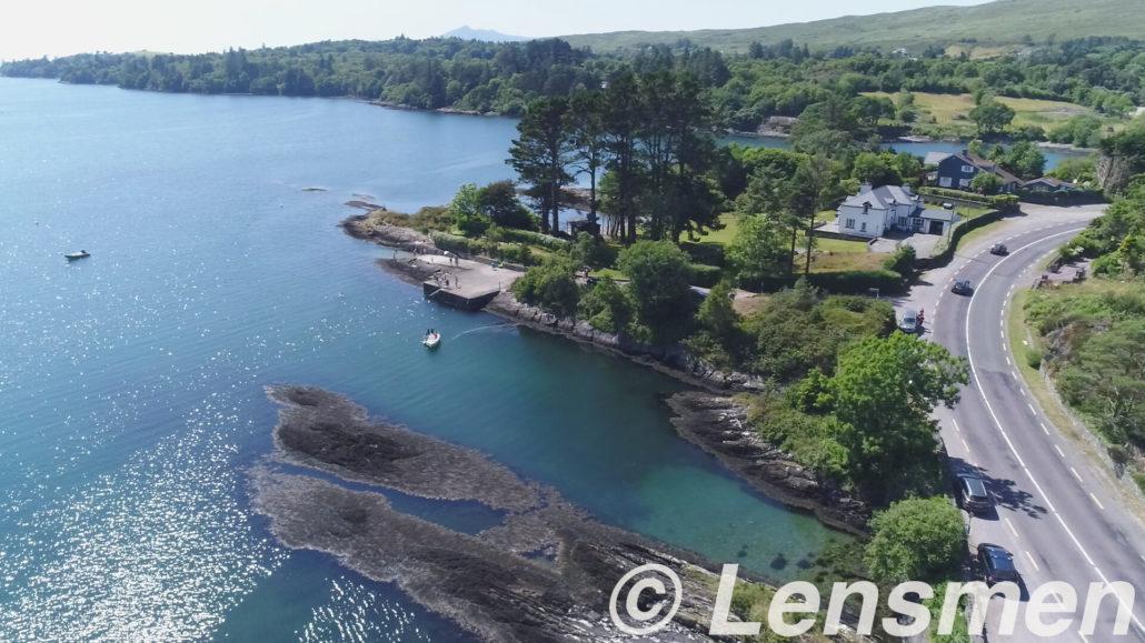 drone photography of ballylickey bay co cork