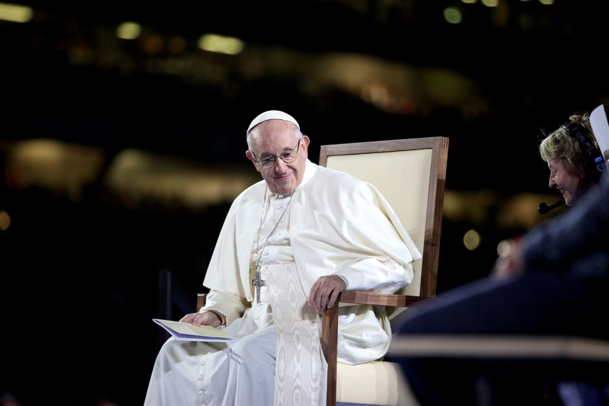 Pope Francis at Croke Park