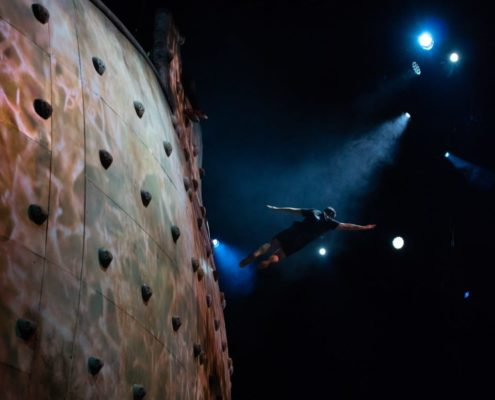 event photography and video acrobatics