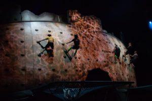 Sports Photography Cirque Du Soleil trampolinist