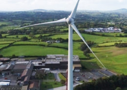 Wind Turbine Drone Photo
