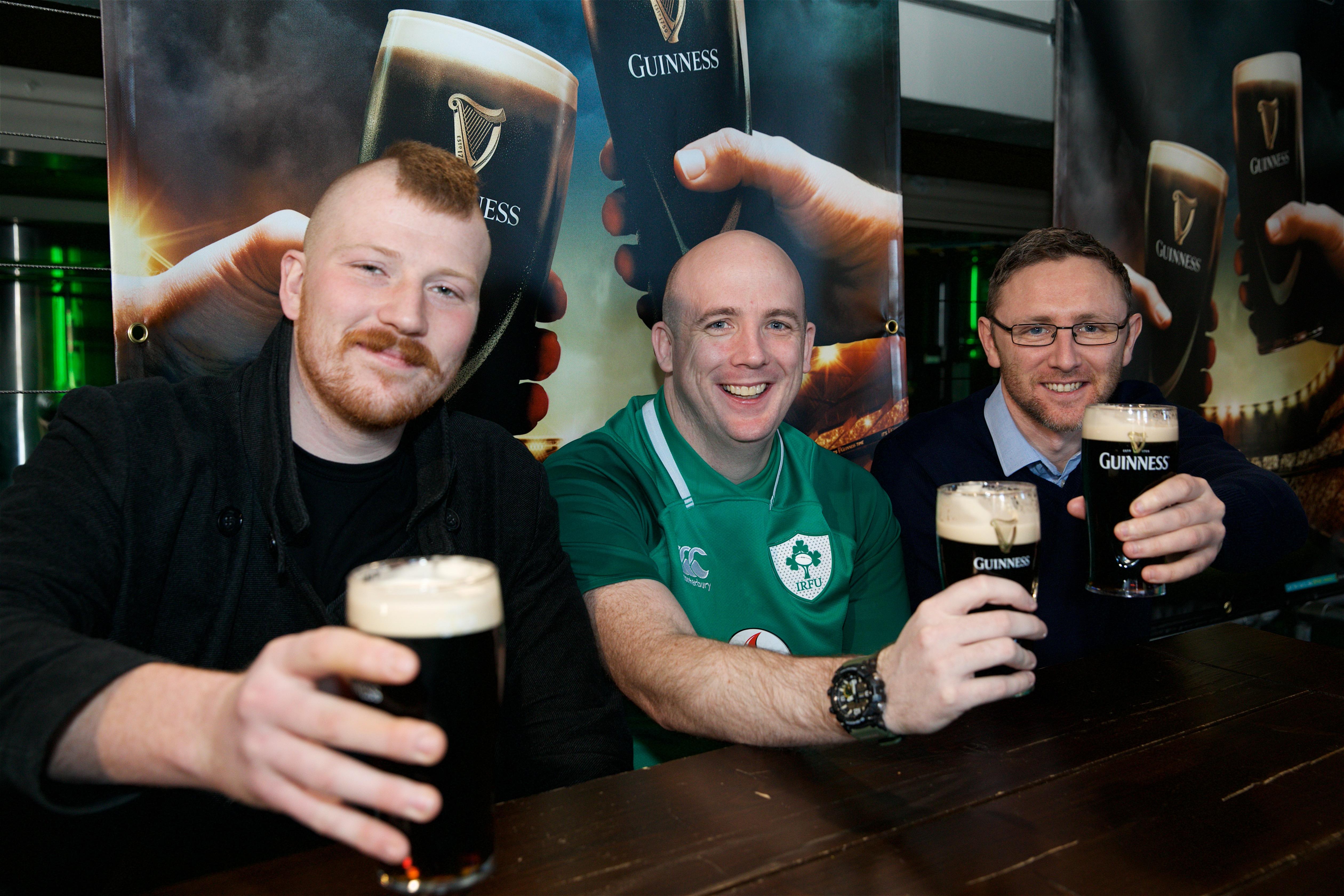 Guinness Storehouse 6 Nations Fans