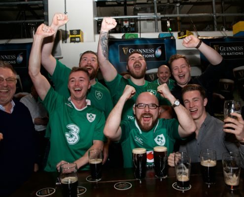 Guinness Storehouse 6 Nations Fans