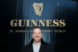 Will Greenwood at Guinness Storehouse