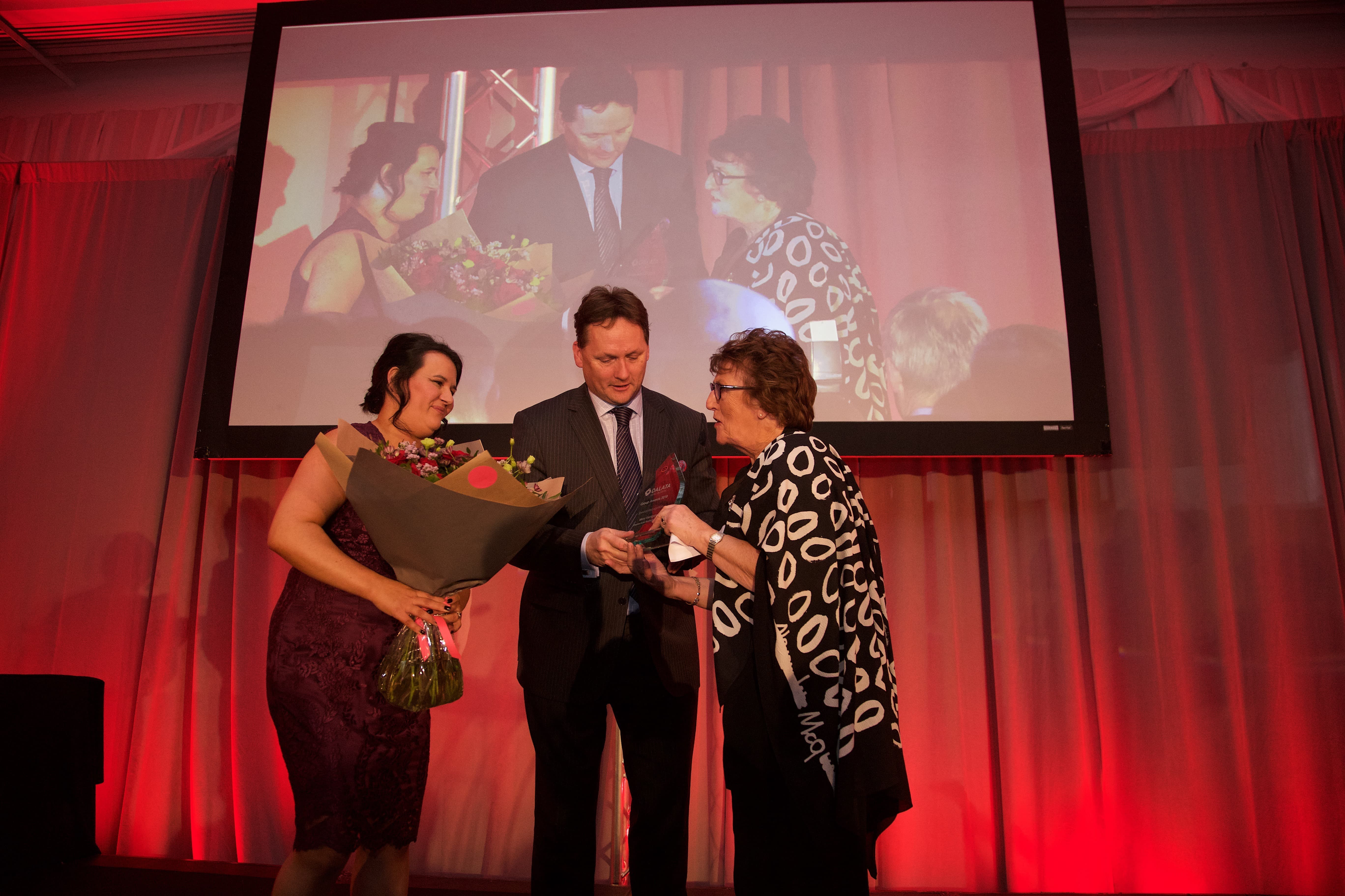 Award winners photograph