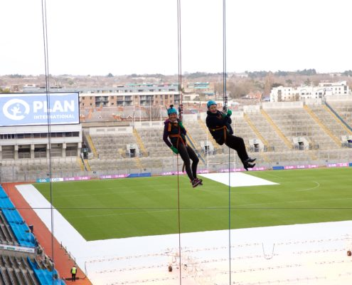 Charity Event photography Croke Park Abseil