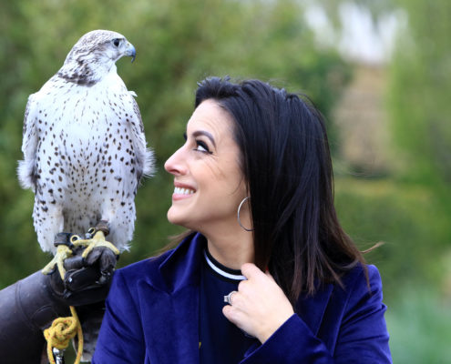 Lucy Kennedy at Tayto Park