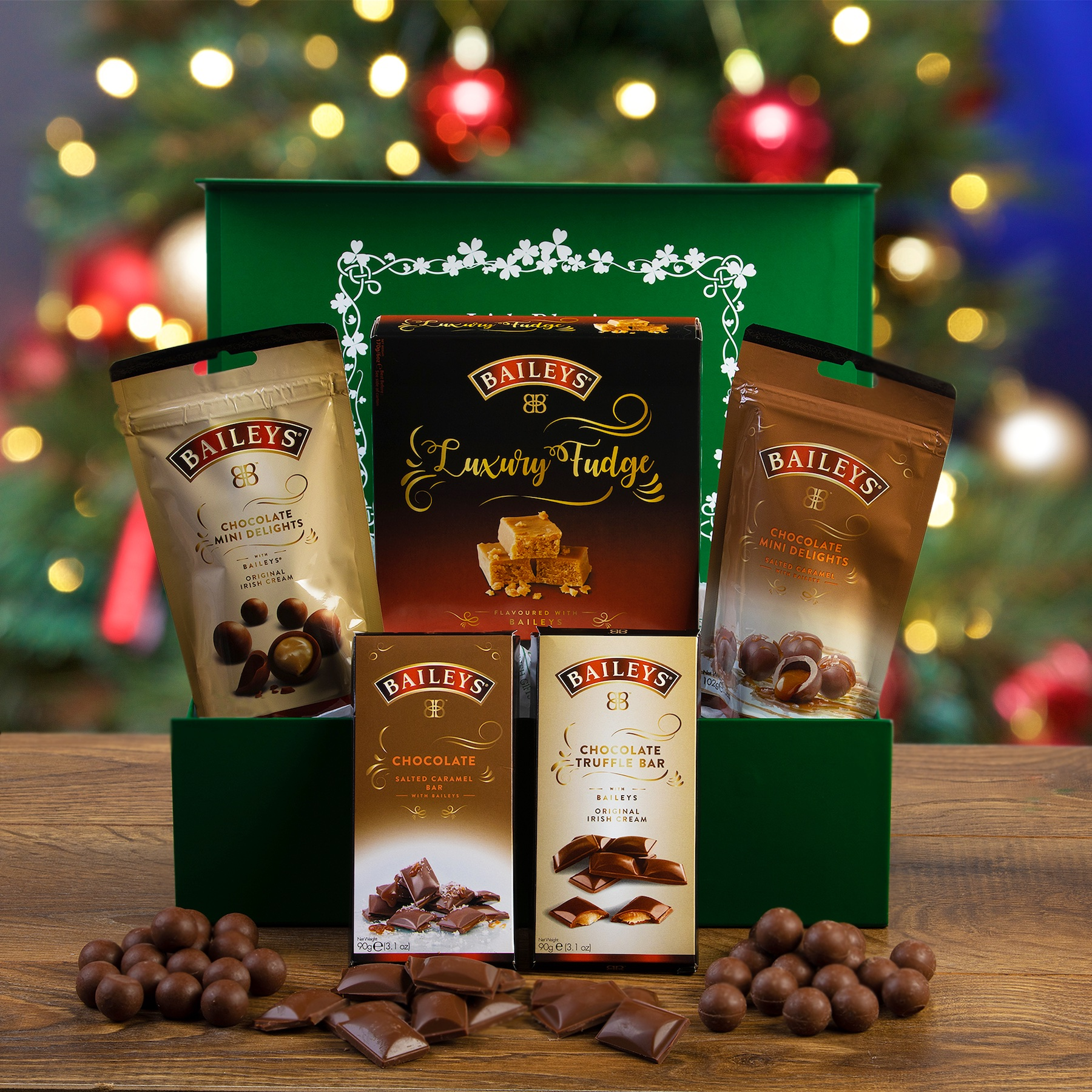 Product Photography Carroll's Christmas Hamper