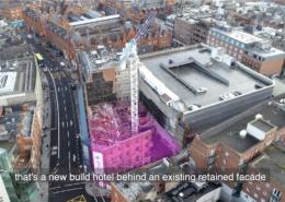 Drone Clip Premier Inn Video