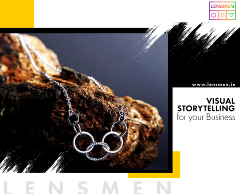 Visual Storytelling for your Business, use Lensmen product Photos