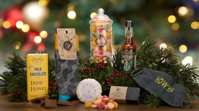 eCommerce Christmas Hampers Product Photography