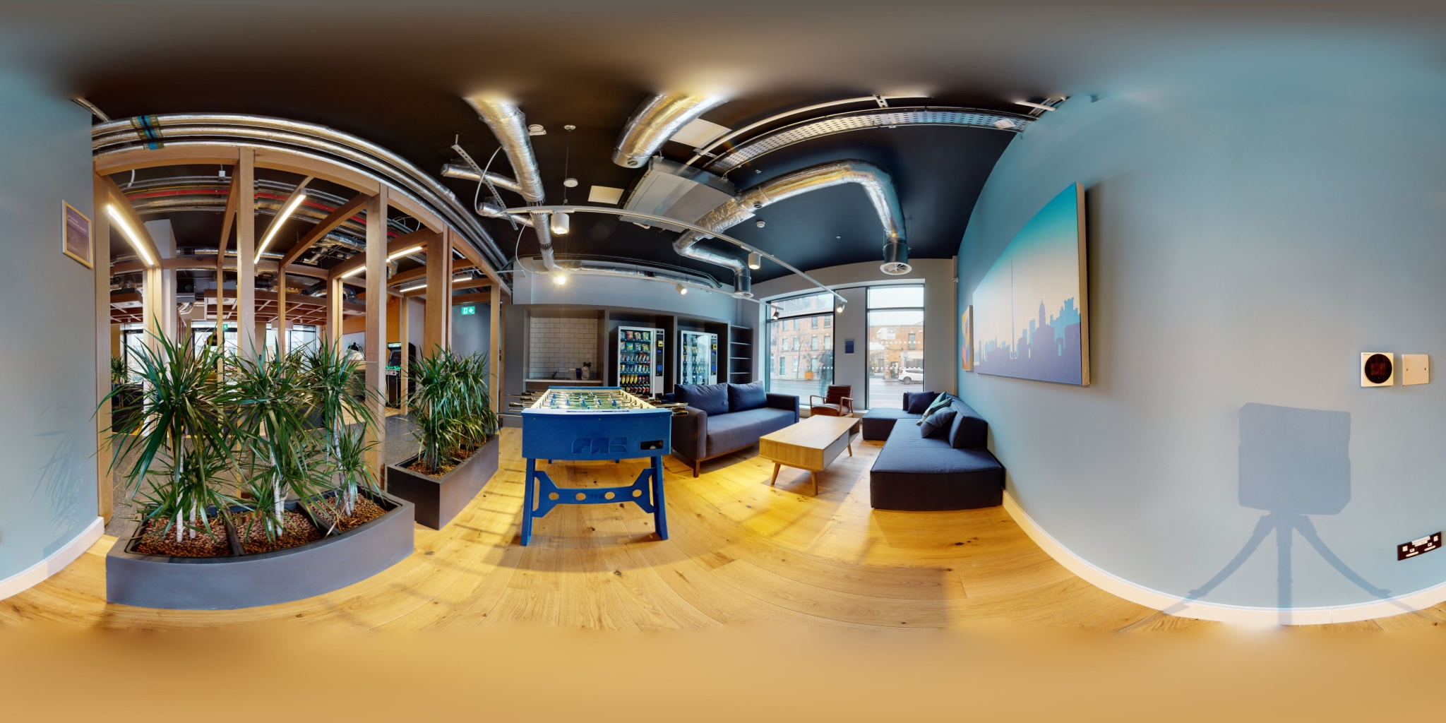 Student Accommodation 360 Virtual Walkthrough Lensmen Videographer Ireland