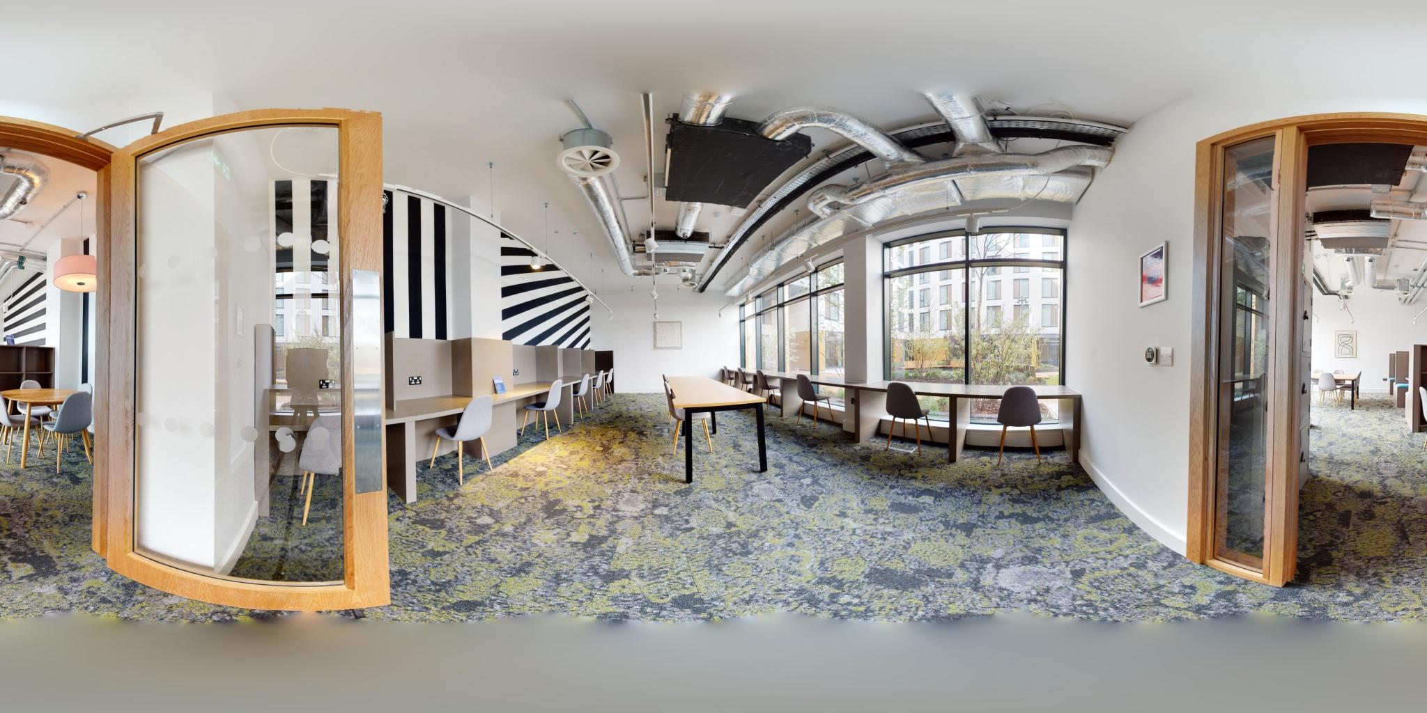 Student Residence Accommodation 360°Walkthrough Experience Ireland