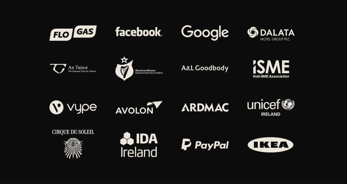 List of lensmen clients' logos